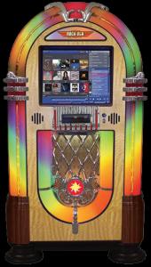 Rock-Ola Jukebox Nostalgic Bubbler Music Center Jukebox Touchscreen