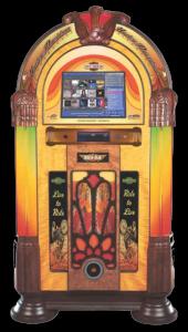 Rock-Ola Jukebox Harley Davidson Music Center Touchscreen