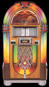 Jukebox Classic Nostalgic Bubbler 100 CD Walnut