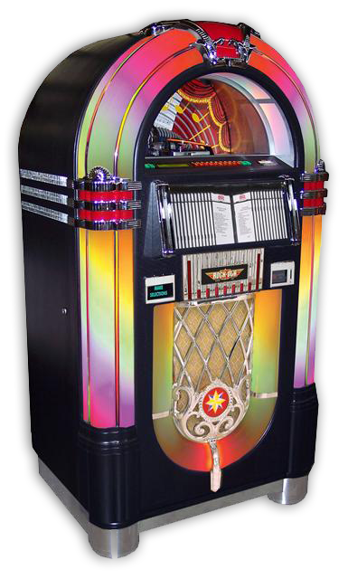 Jukebox Nostalgic Bubbler 100 CD Black